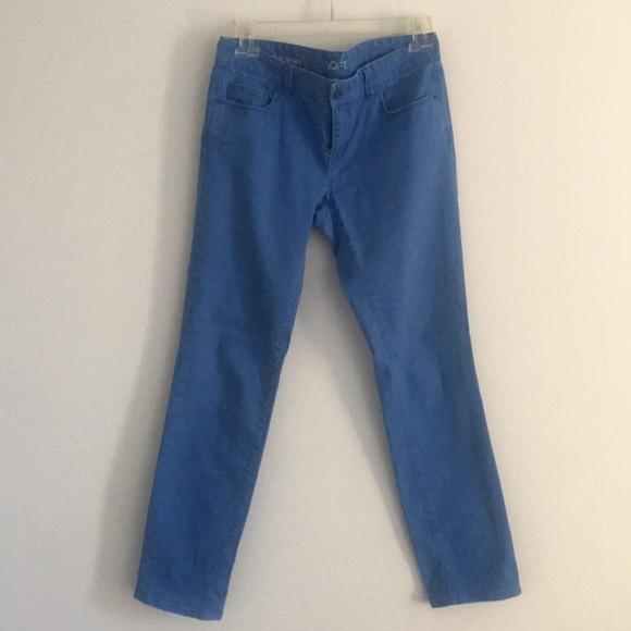 LOFT Pants - AnnTaylor LOFT modern straight blue pants